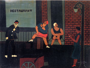 Jacob Lawrence - Street Scene