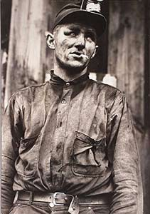 Miner at Dougherty's min, Near Falls Creek, Pennsylvania - Jack Delano